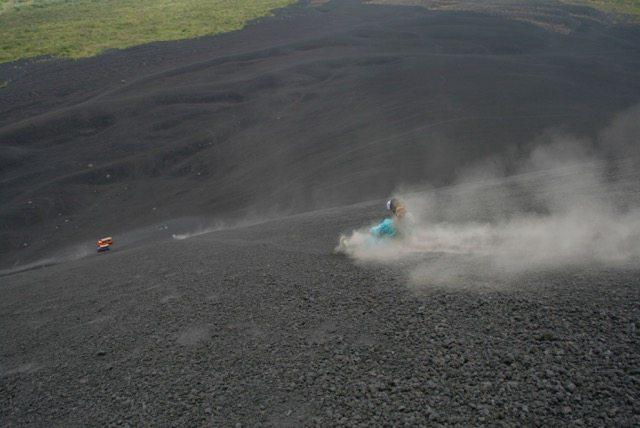 vulcão Cerro Negro