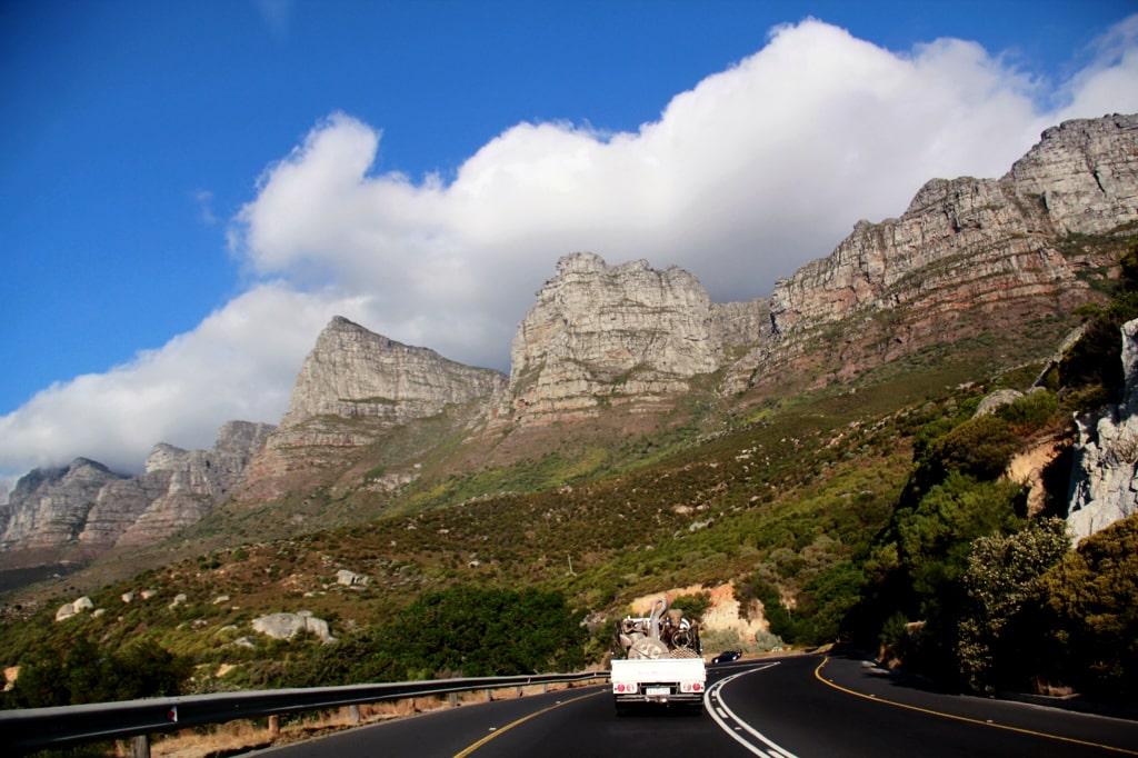 Rota Jardim na África do Sul