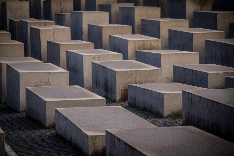 Memorial do Holocausto em Berlim Alemanha