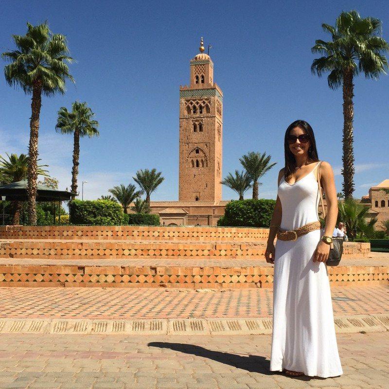 Marrakech Mesquita Minarete Koutoub