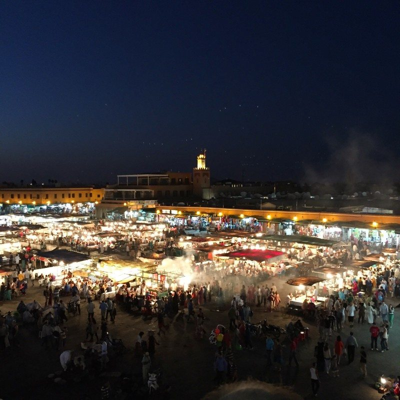 Praça Jemaa El Fna Marrakech