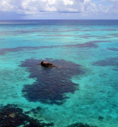 Crab Cay na Ilha de Providencia. Foto de Marcelo Medeiros via Flickr