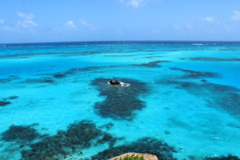 Ilha Providência em San Andrés no Caribe Colombiano