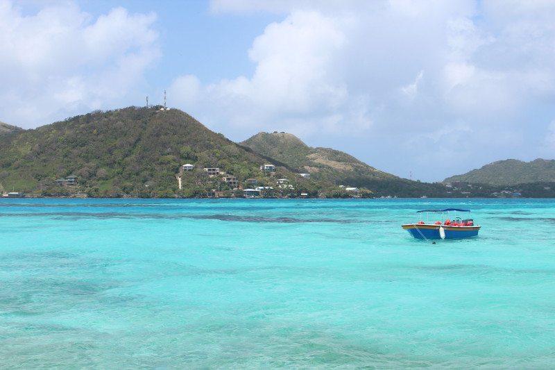 Ilha Providência em San Andres no Caribe Colombiano