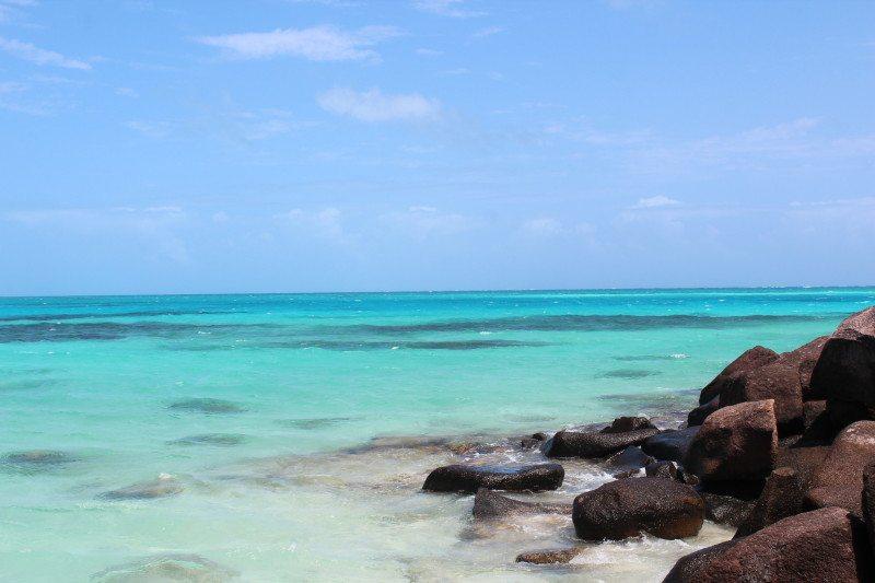 Praia Ilha Providência em San Andres no Caribe Colombiano