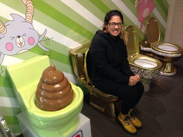 Restaurante Modern Toilet em Taiwan (foto: Joanna Romano)