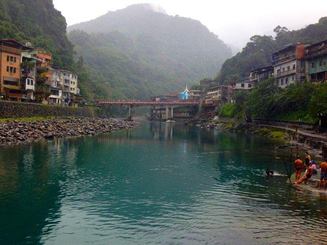 Piscinas de Águas Quentes em Taiwan (foto: Joanna Romano)