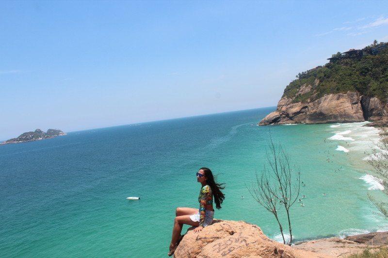 Praia de Joatinga no RJ