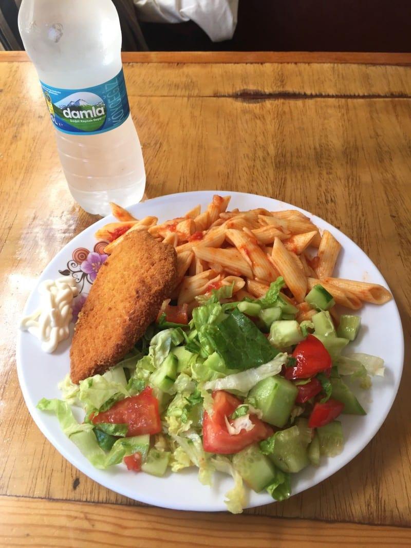 Almoço no barco