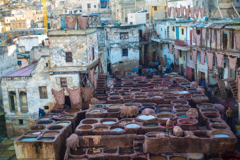 6 lugares para se visitar no Marrocos