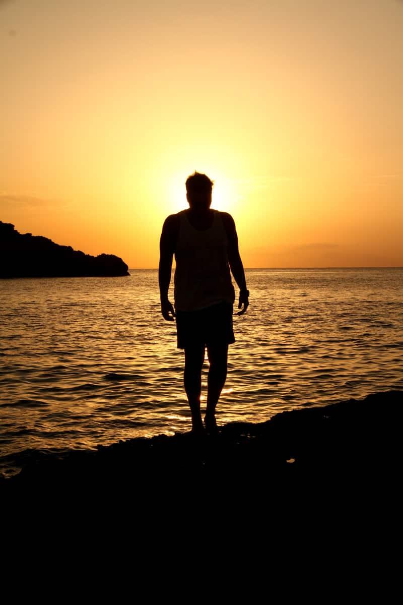 Por do sol em Ibiza
