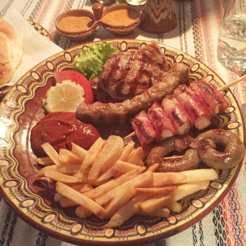 onde comer em Plovdiv
