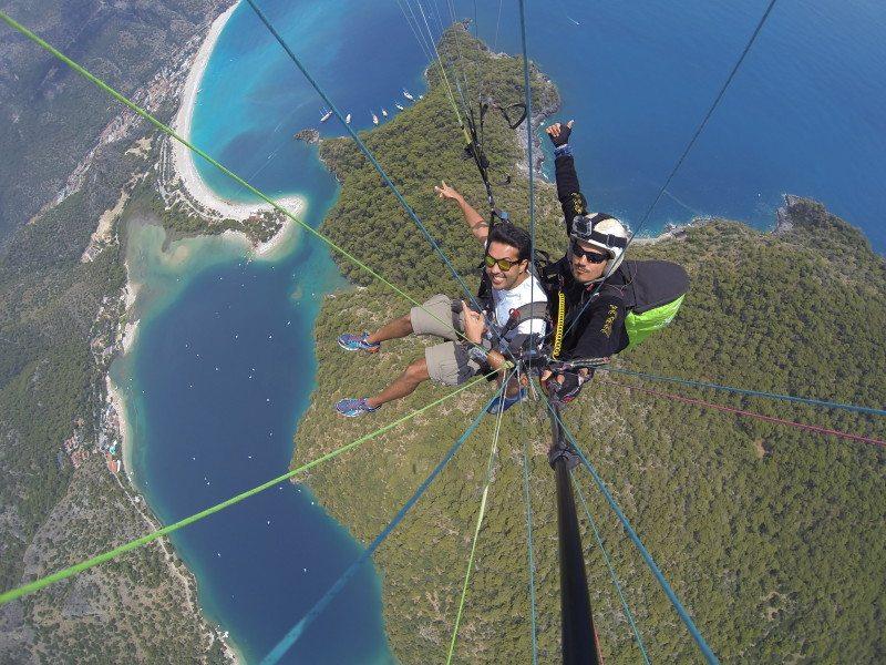 Voo Paraglider Oludeniz