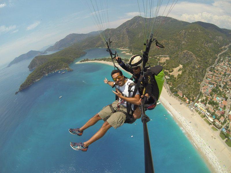 Voo de Paraglider em Öludeniz