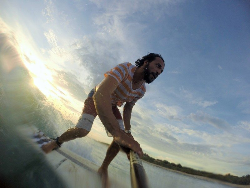 surf na praia negra na costa rica