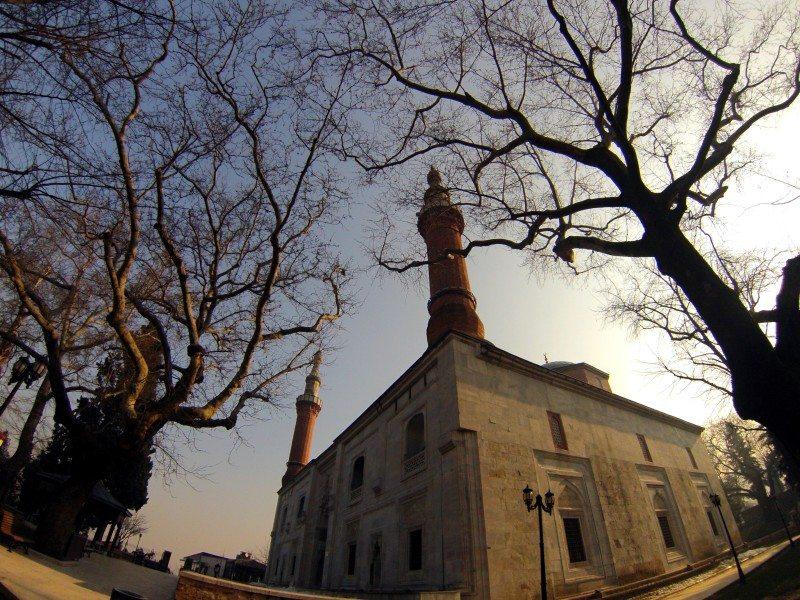 mesquita verde em bursia na turquia