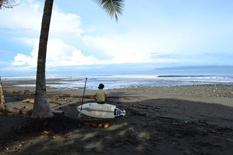 praia pavones costa rica stand up