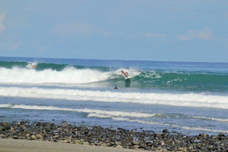 stand up praia pavones costa rica