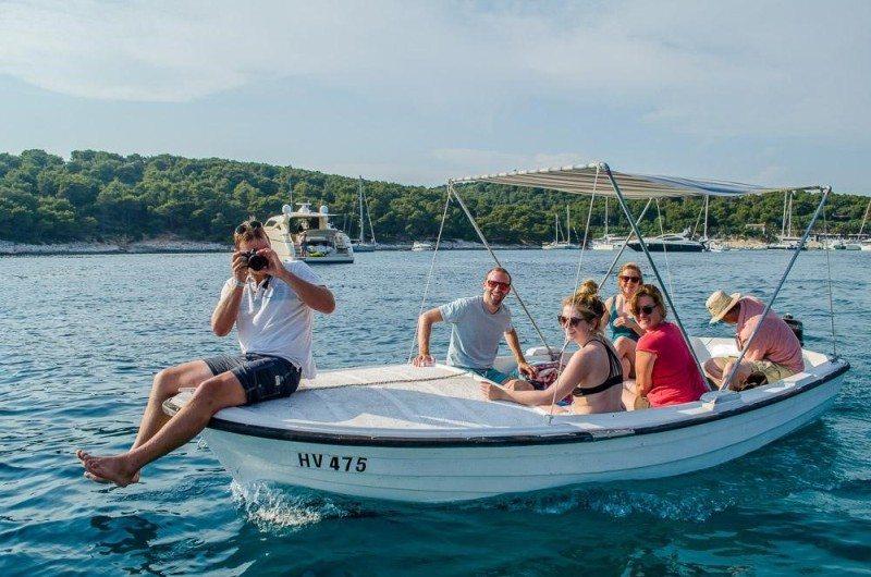 passeio de barco croácia