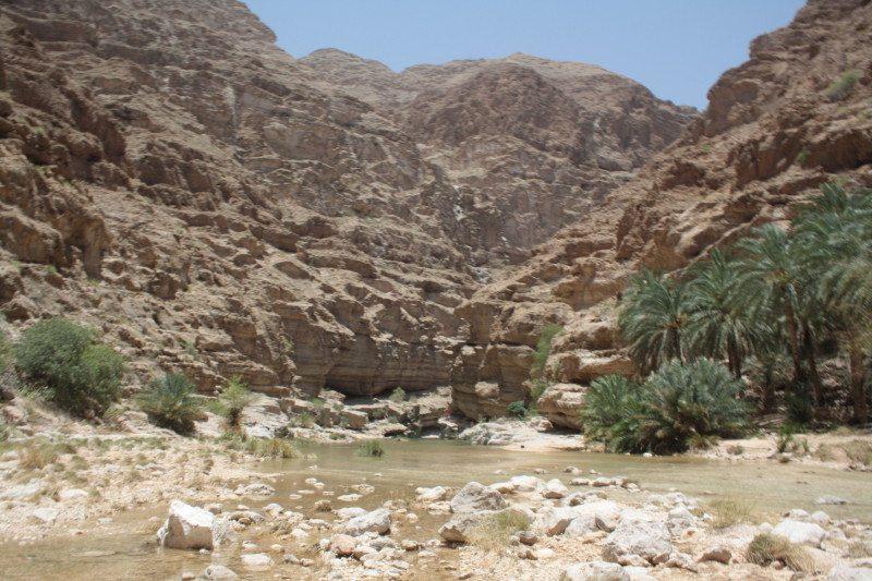 wadi shabi em omã