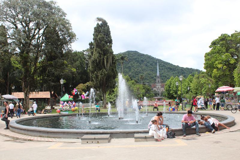 Praça Rui Barbosa em petrópolis
