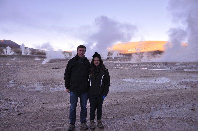 geysers atacama chile