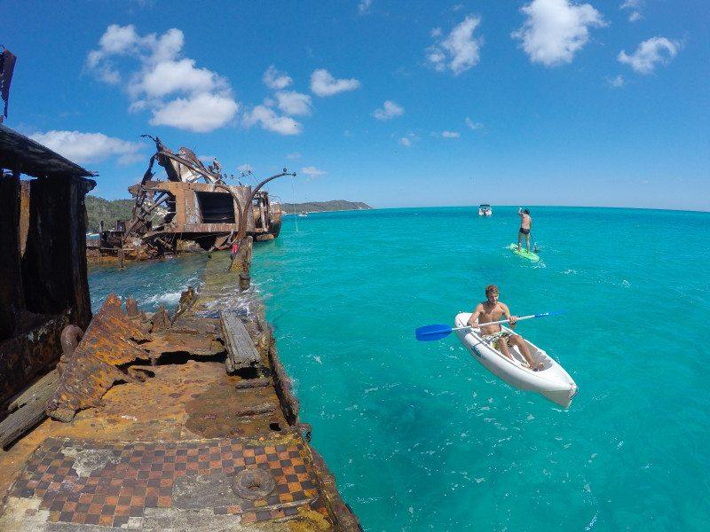 caiaque ilha moreton