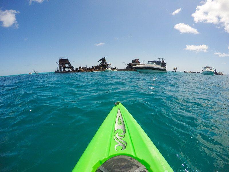 wrecks ilha moreton australia