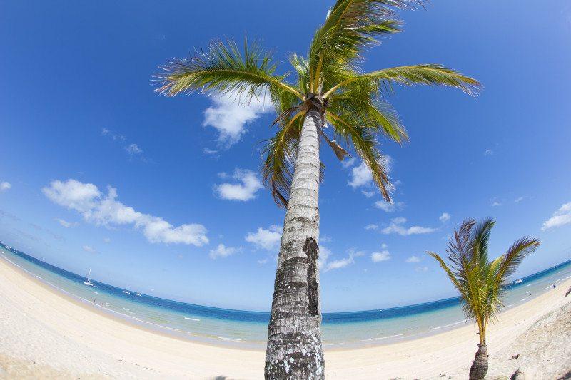 praia ilha moreton australia