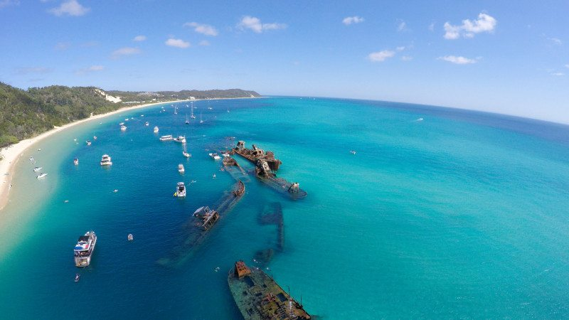 ilha moreton australia