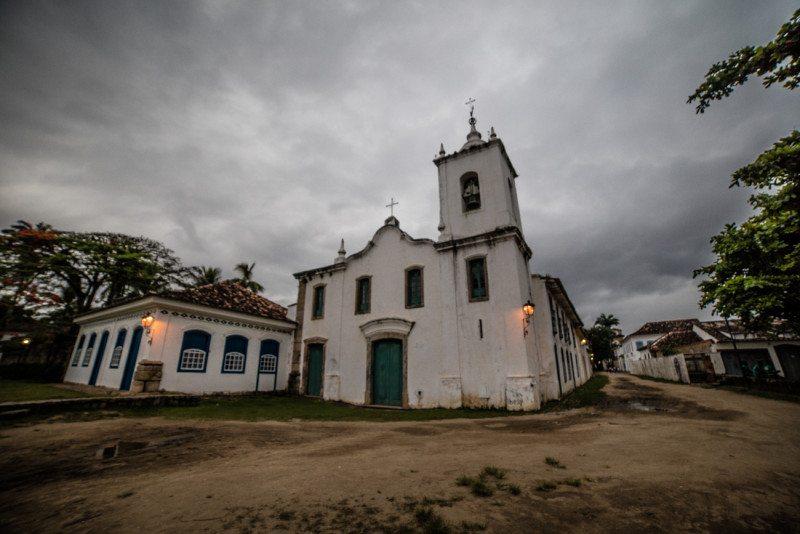 igreja historica e m paraty