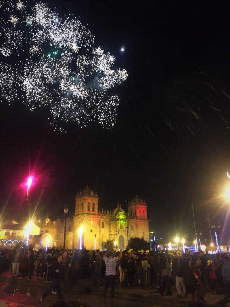 Ano Novo em Cusco no Peru