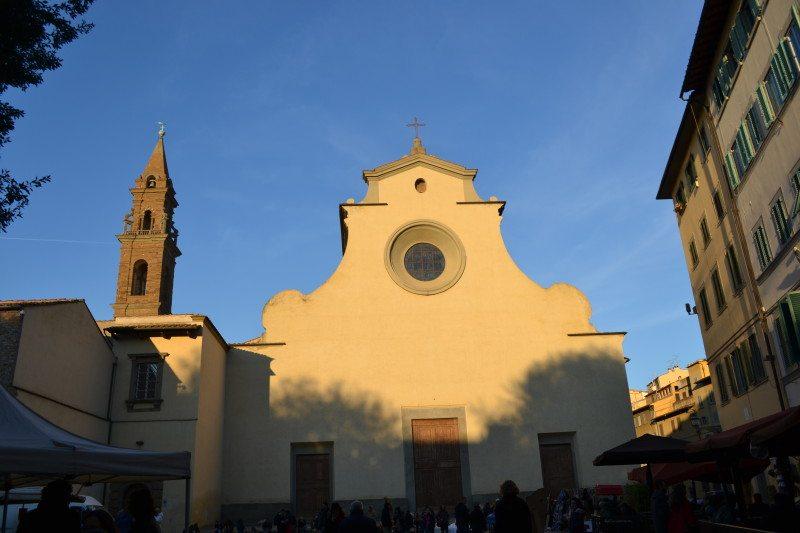 igreja santo spirito florença italia