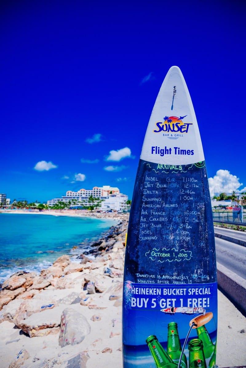 maho beach saint martin porto rico