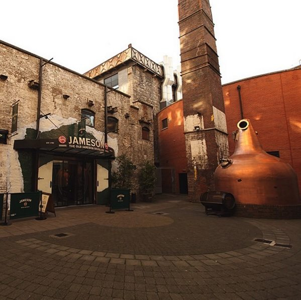 old jameson distillery irlanda