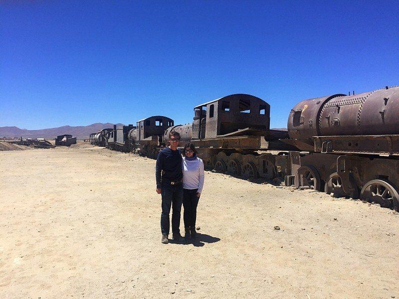 cemitério de trens bolivia Salar de Uyuni