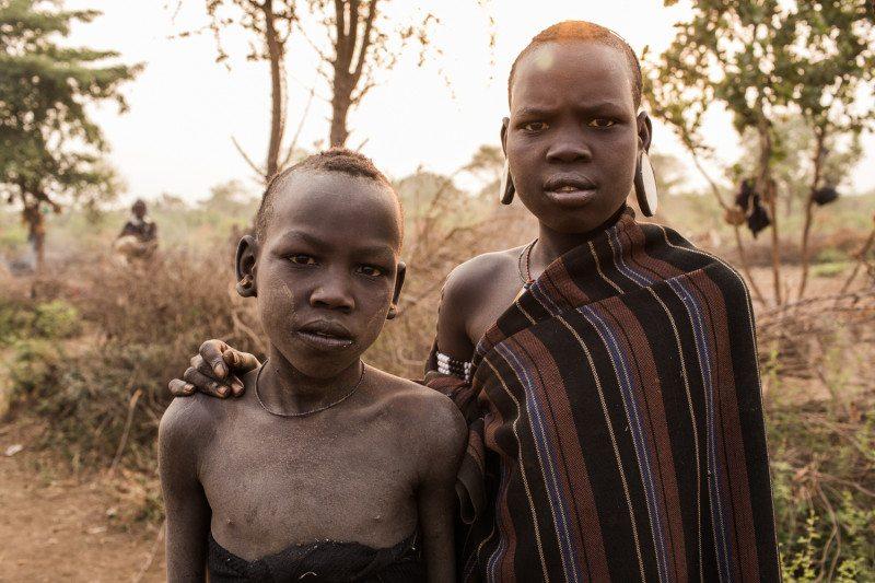 tribo mursi etiópia