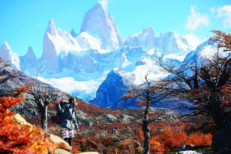 na estrada para patagonia