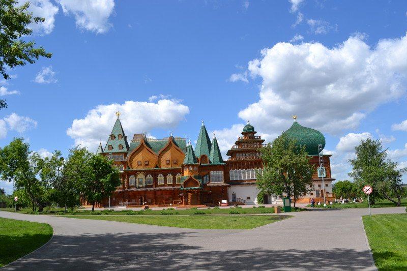 Palácio de Madeira Russia