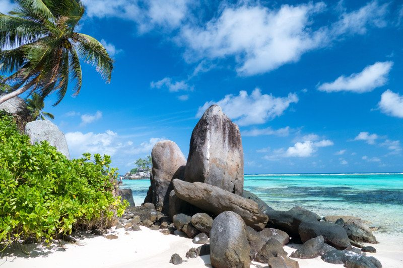 Seychelles lua de mel