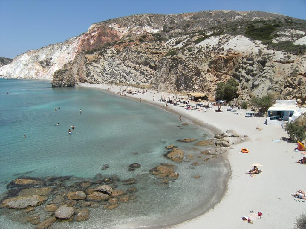 Praia de Firiplaka - uma das mais bonitas da minha viagem
