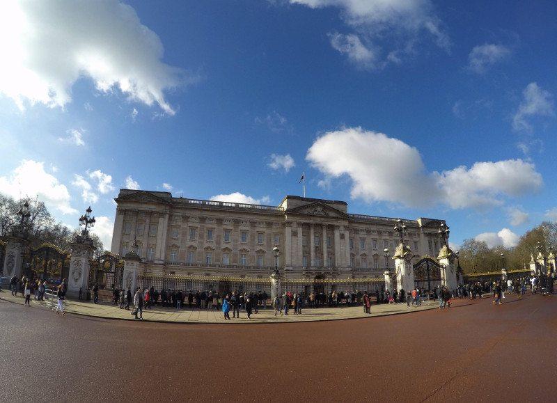 Palácio de Buckingham - O que fazer em Londres em 3 dias