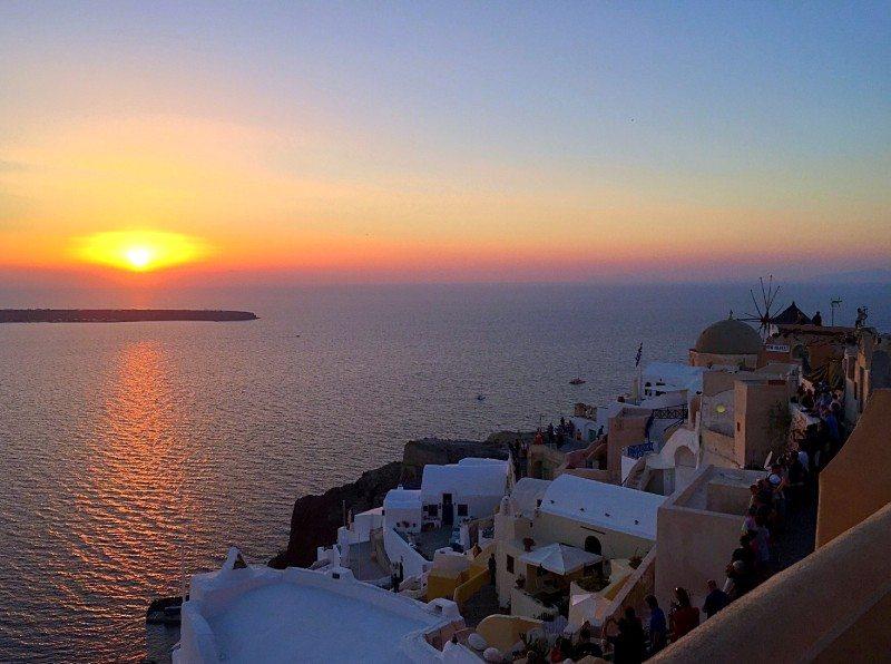 baía de santorini grecia