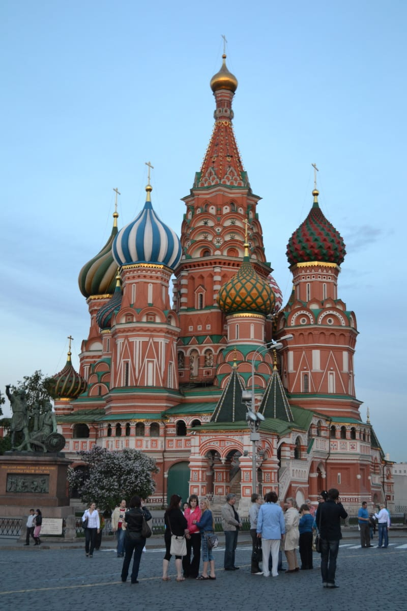 St Basils Church moscou