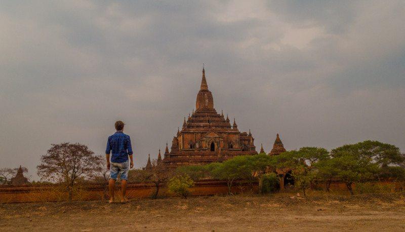 Templo Myanmar. Foto: Rodrigo Belasquem