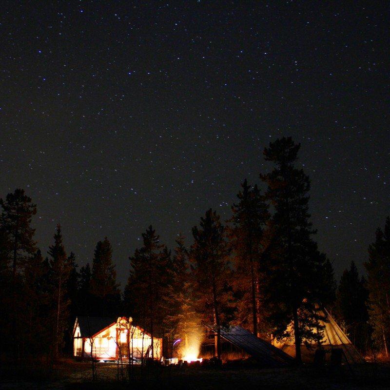 Cabana Aurora Boreal Canadá