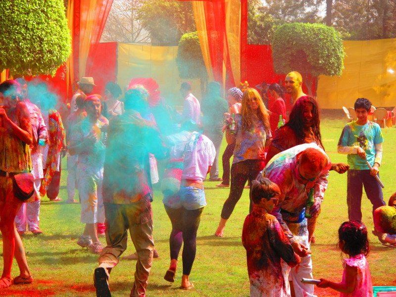 HOLI: o festival das cores mais lindo do mundo