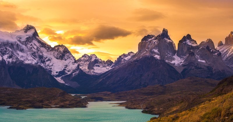 Trekking de Torres del Paine, no Chile