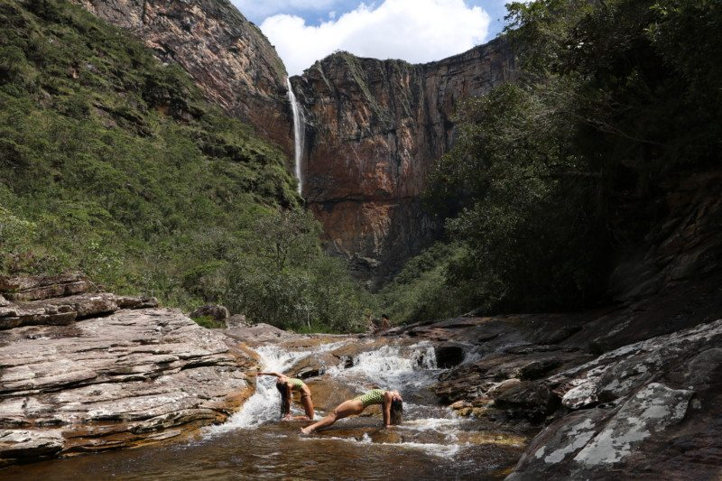 De bicicleta pelas trilhas e cachoeiras da Serra do Cipó – MG