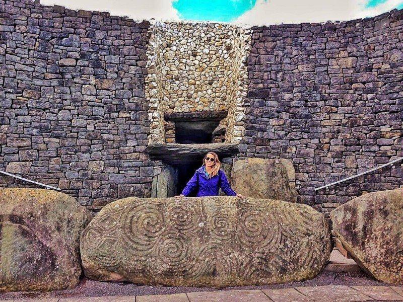 o que fazer na Irlanda Newgrange